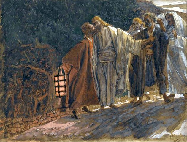 630-Brooklyn_Museum_-_The_Kiss_of_Judas_Le_baiser_de_Judas_-_James_Tissot