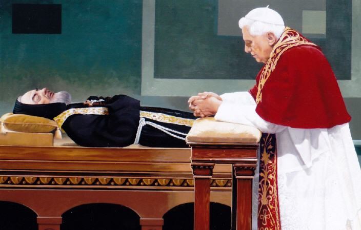 Pope Benedict Padre Pio