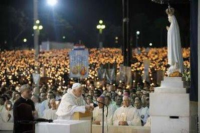 Pope Benedict Fatima 10