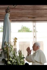 Pope Benedict Fatima