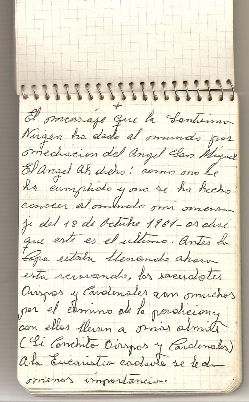 GARABANDAL Message 18.06.1965 JPL 1 (1)